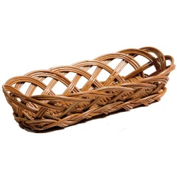 Chef-Hub Wicker Open Loaf Basket